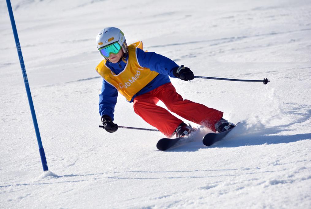 Kalan Taylor in the Club Med Kids Club Ski School